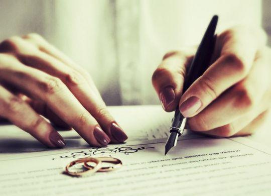 contrat de mariage internatianal