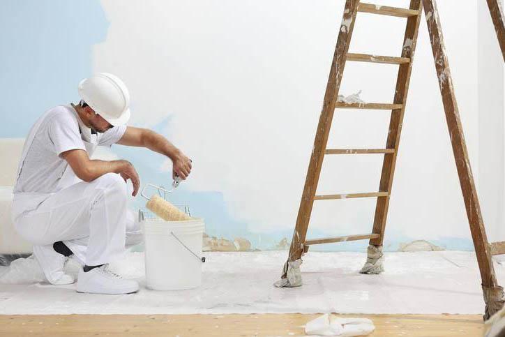 professionnel peintre
