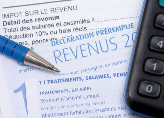 Français déclaration d'impôt sur le revenu