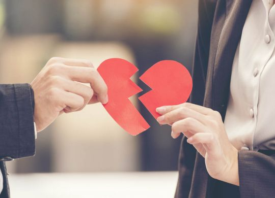 chagrin divorce pacs couple brisé le coeur