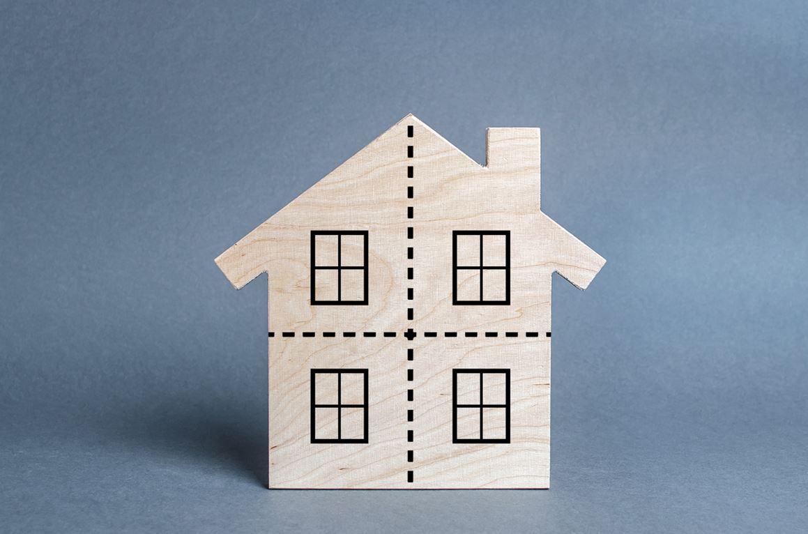 partage bien immobilier divorce